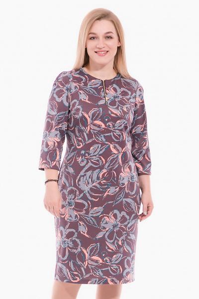 Платье с замочком, П-516